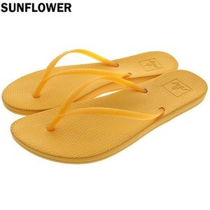 NEW REEF Escape Sunflower Lux Flip Flops